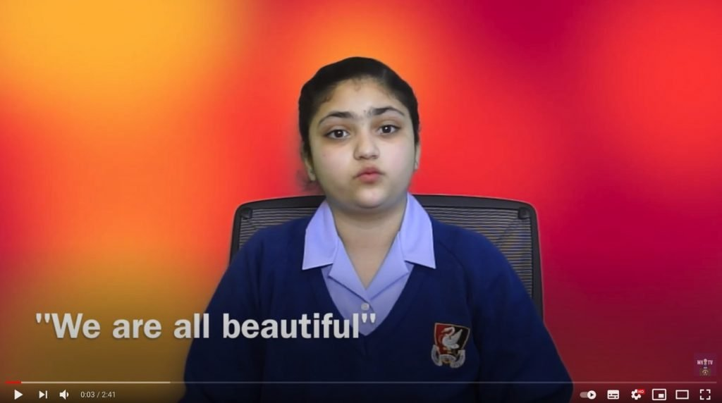 "VIDEO: ""We are all beautiful - YOU are beautiful"""