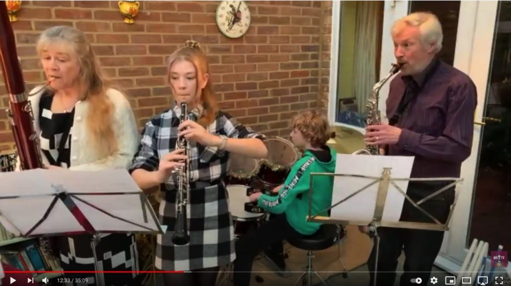WHS virtual concert show finishes on a High Note