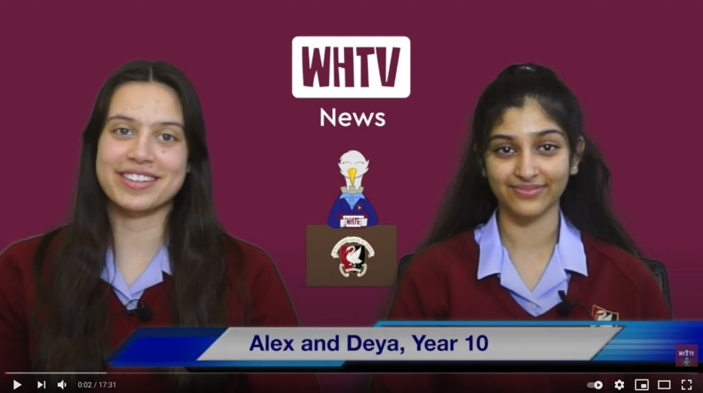 News just in! Watch the latest edition of WHTV News
