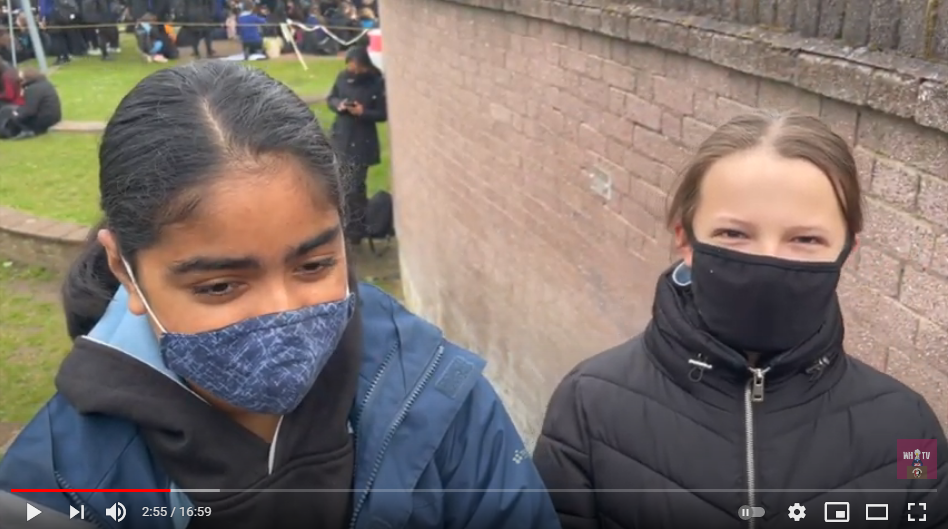 Mask debate uncovered in this week's WHTV News...