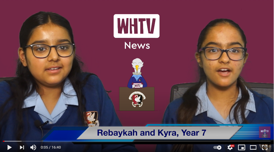 News just in - the latest edition of WHTV News...